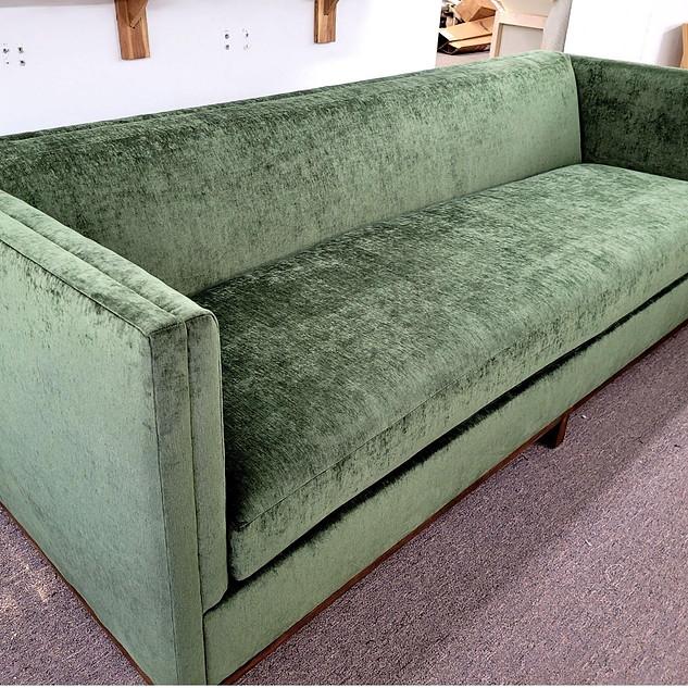 Custom Green Sleeper Sofa
