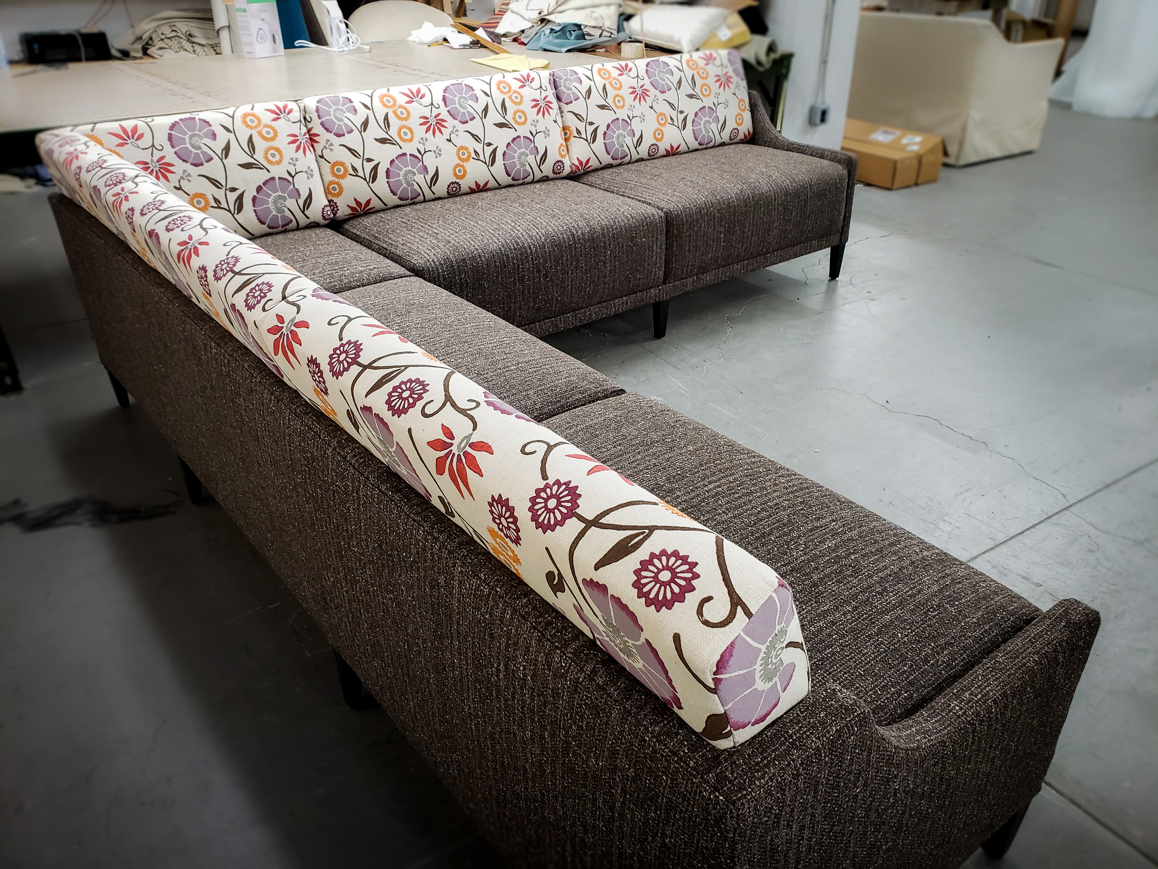 Floral Sectional