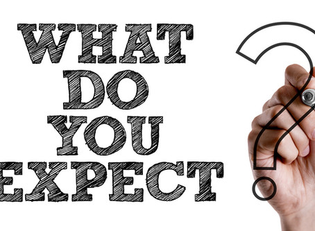 CHANGE YOUR EXPECTATIONS, CHANGE YOUR LIFE!
