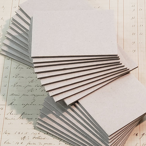 """3 sets of 10 pages of 3""""x4""""  Book Board"""