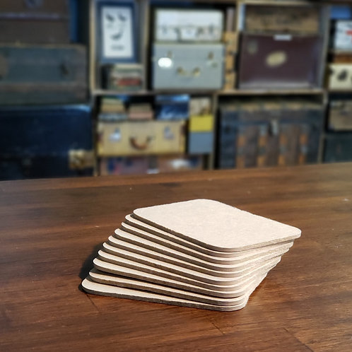 """10 pages Rounded Corners 3""""x4"""" Bookboard"""