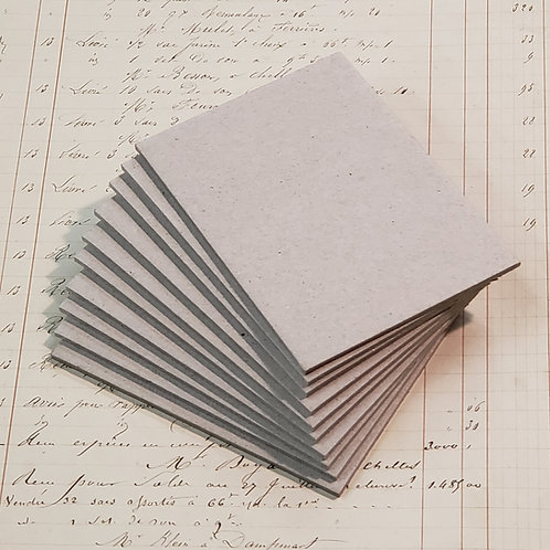 """10 pages of 3""""x4""""  Book Board"""