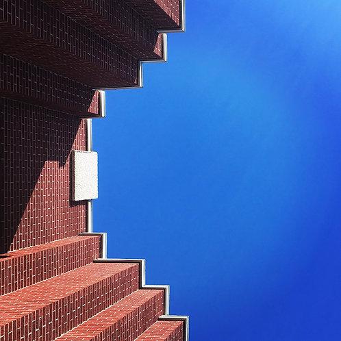 Escalier de briques