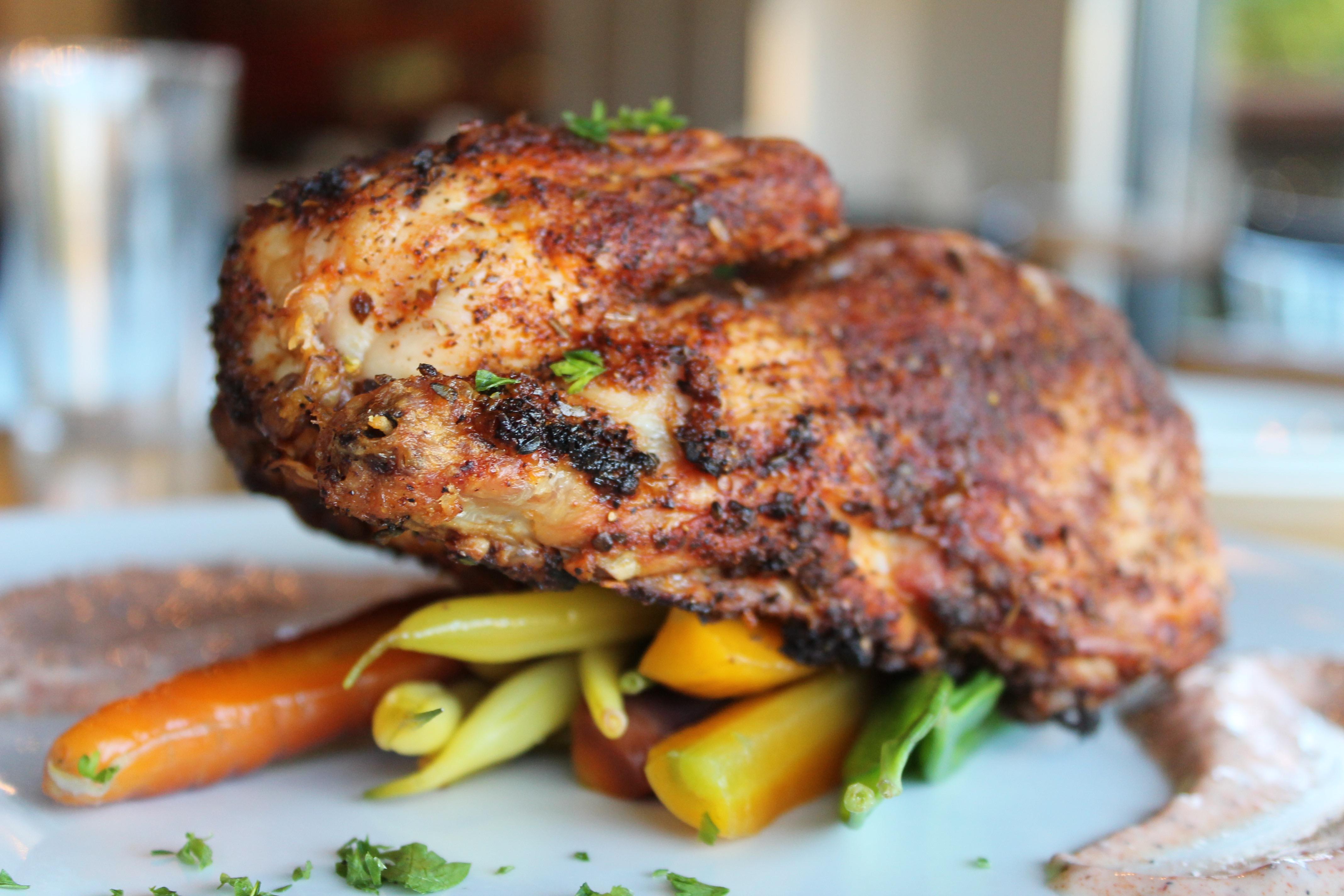 Demi-poulet de Cornouaille