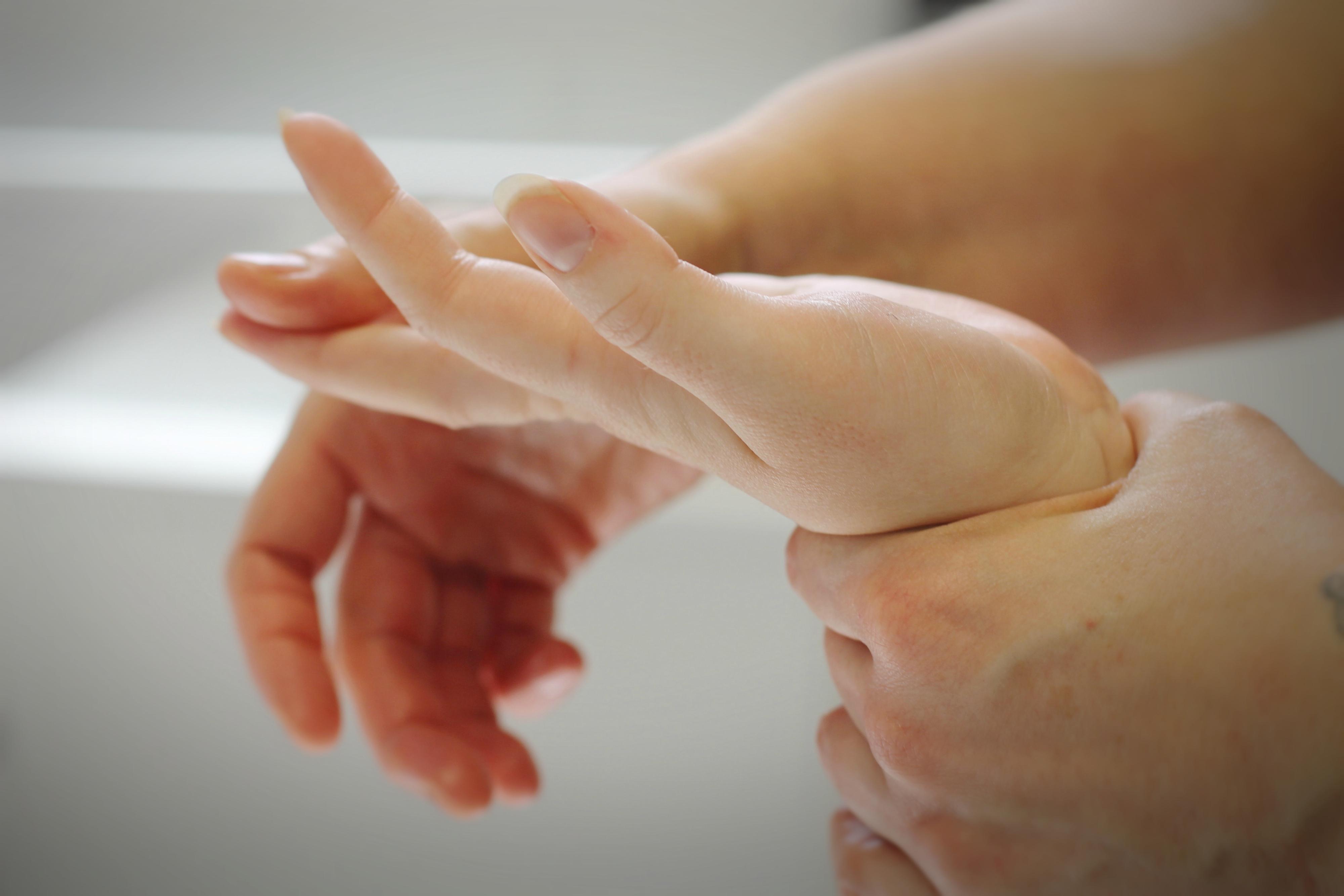 Massage de main