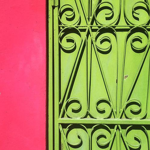 Pink & lime