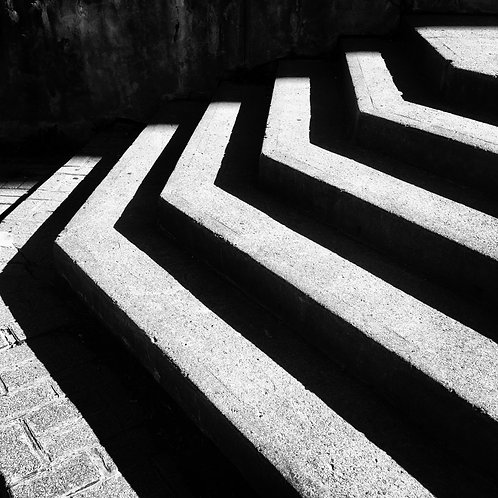 Steps in the shadow