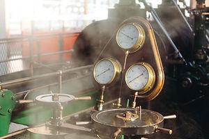 vapor máquina de la industria