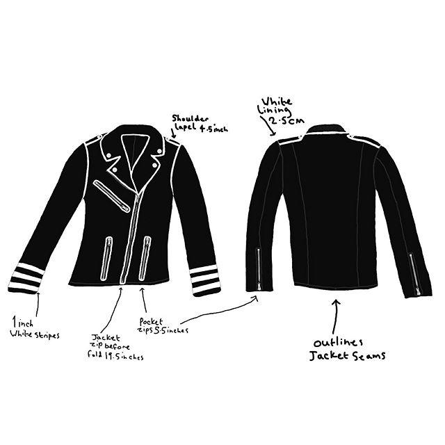 Monochrome class jacket
