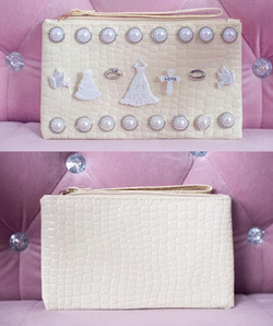 Before and after wedding bag