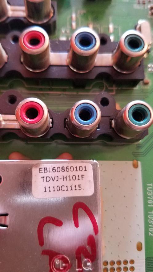 EAX64290501 (0) EBT61546007 LG Main Board 55LK520-UA