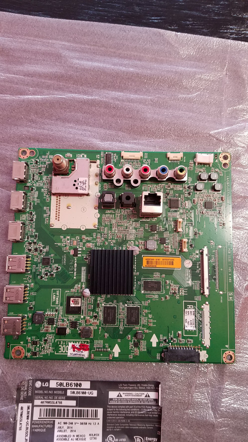 EAX65610206 1 1| LG Main Board 50LB6100