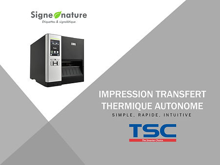 SIGNE NATURE IMPRIMANTE AUTONOME TRANSFE