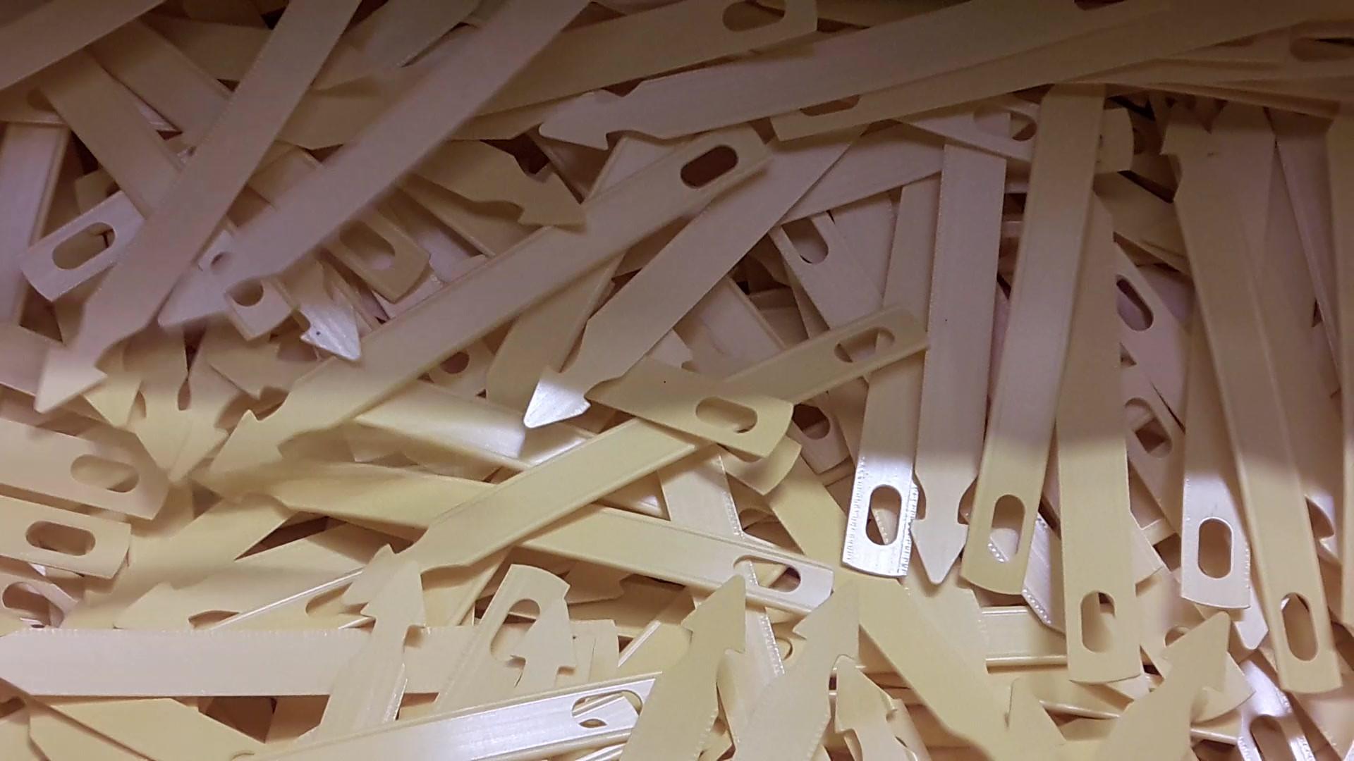 fabrication étiquettes Brio Signe nature