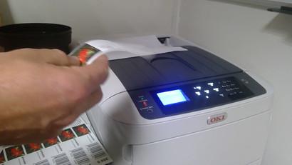impression laser etiquettes horticoles