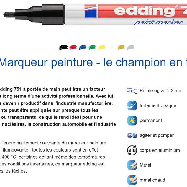 marqueur edding 751fiche.JPG