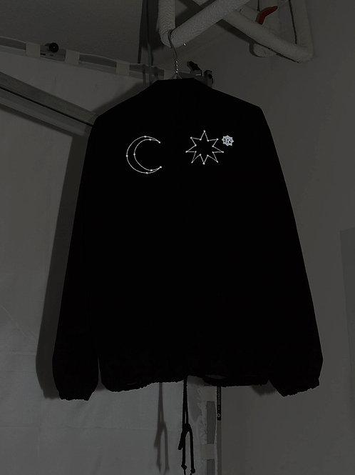 RSST Midnight Coach Jacket/ 黑色教练夹克