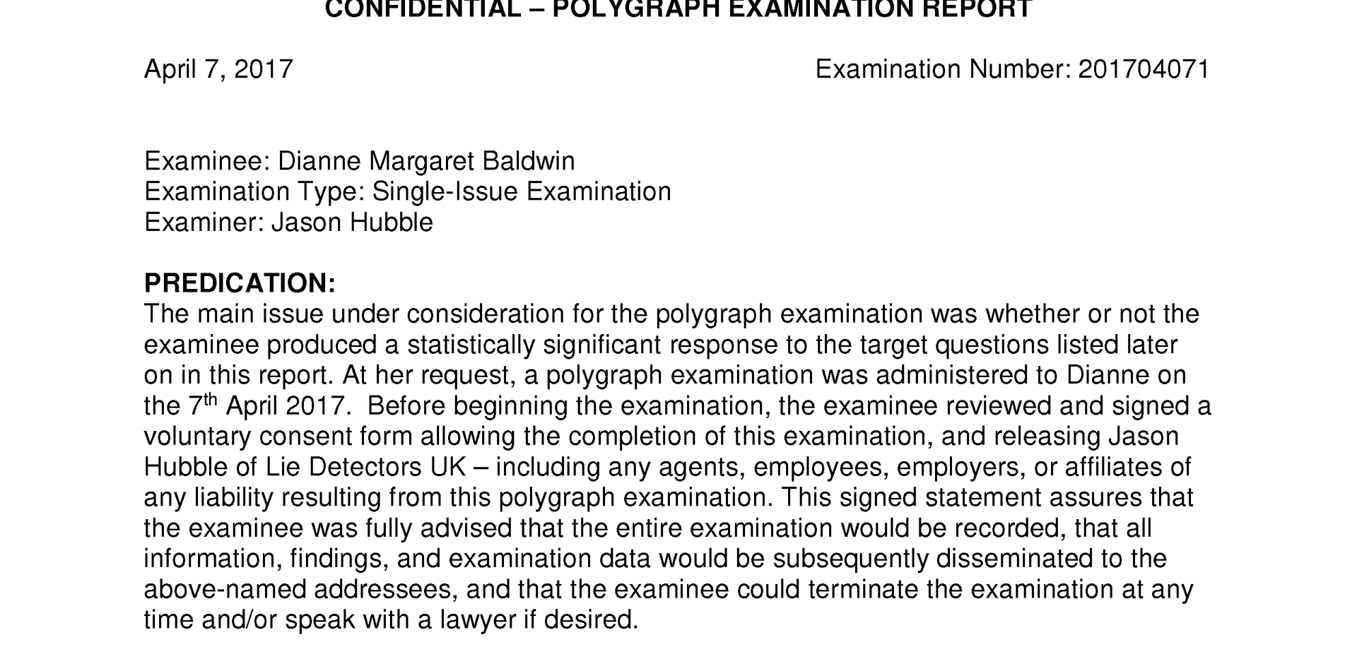 Dianne Baldwin polygraph report pg 1.png