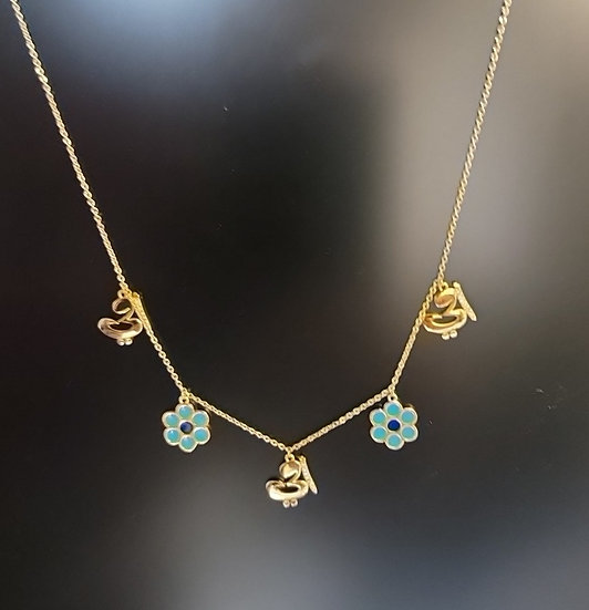 Gold Plated Mother (Ummi) Necklace