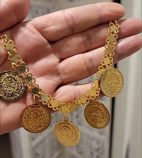 coins bracelet