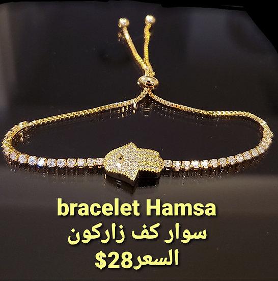 Bracelet gold color