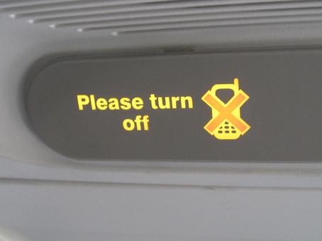 The Secret Reason You Must Turn Off Your Cell Phone on an Airliner...