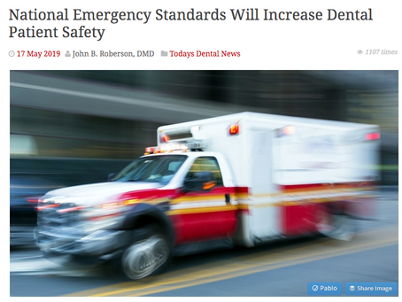 What every dentist should know about emerging national standards