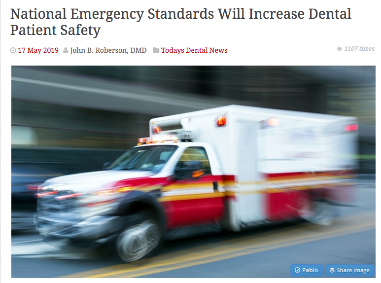 dental national emergency standards
