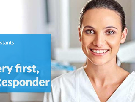 Dental Assistants: The very first, First Responder in an office emergency