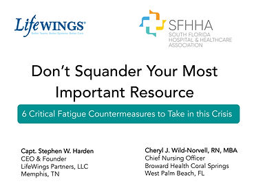 6 Critical Fatigue Countermeasures to Ta