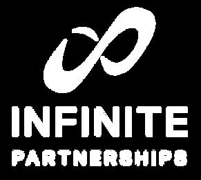 Infinite Partnerships Logo_IP White Outl