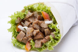 Doner Kebab in Pita Bread