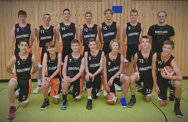 Basketball Konstanz U16 1