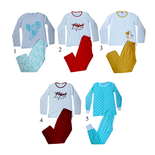 Ladies L/S Payjama Set