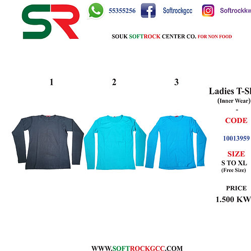 Ladies T-shirt (inner Wear)