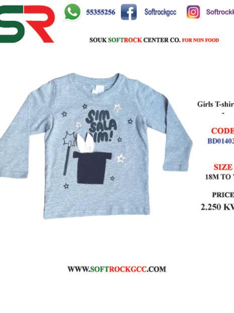 Girls T-Shirt L/S