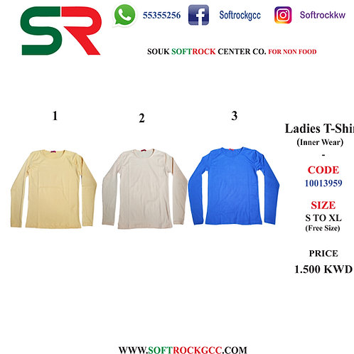 Ladies T-Shirt (Inner Wear)