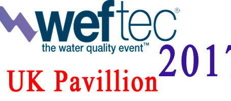 Meet Us at Booths 7954 UK Pavillion of WEFTEC 2017 in Chicago, USA