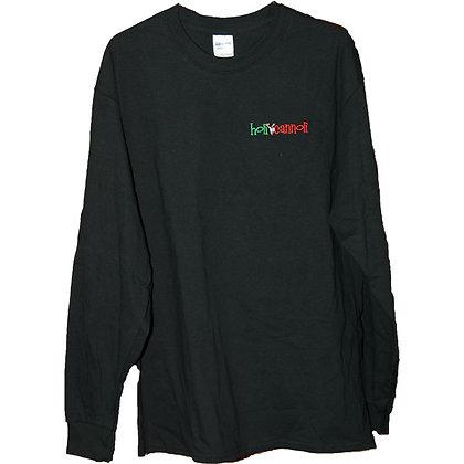 Black Long Sleeve Tee Shirt