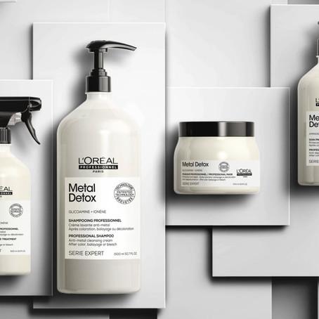 Introducing L'Oréal Professionals latest hair innovation #METALDETOX