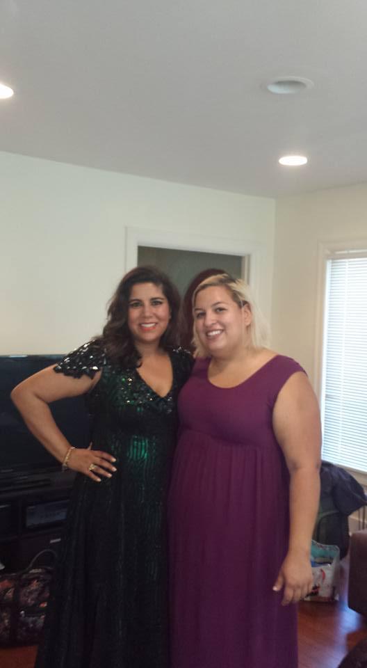 Nisha Ganatra and Elena Flores