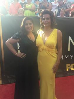Nisha Ganatra with Alex Billings