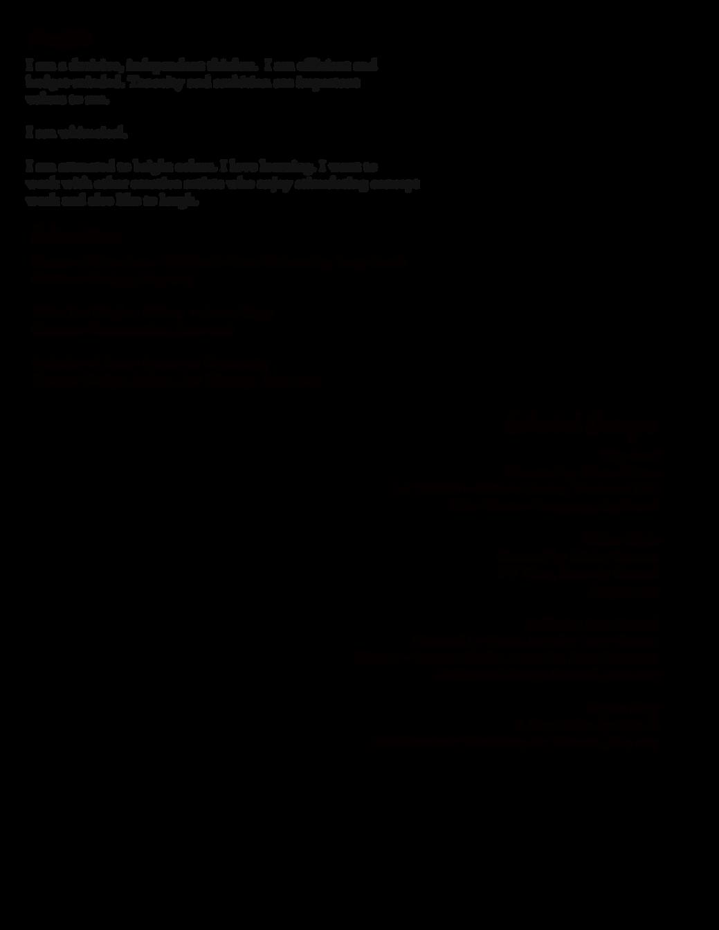 elena flores costume design resume costume design portfolio los angeles middot pdf extended cv