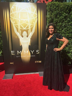 Patterned and stitched Emmy Dress