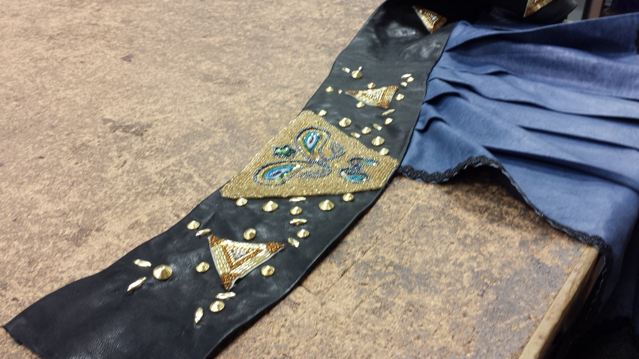 Studding Detail - Stage Belt