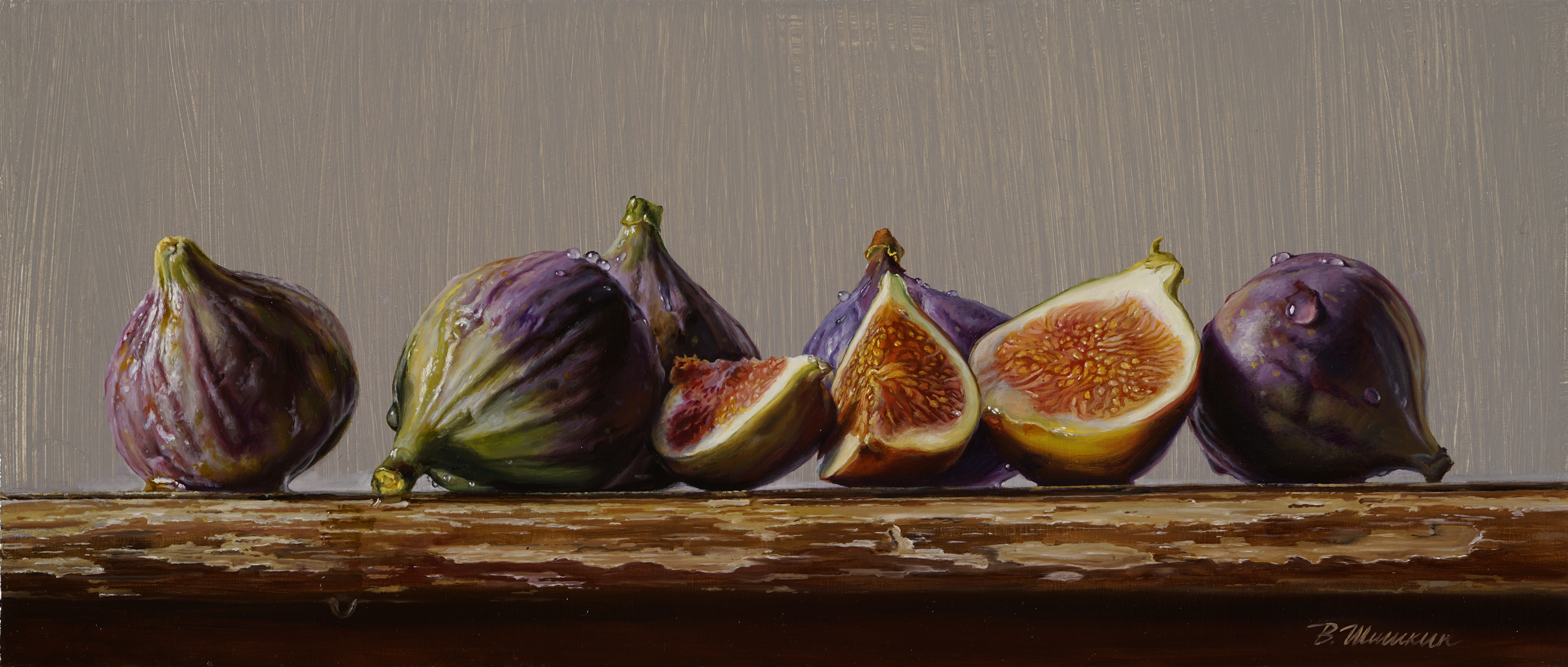 Figs on a light