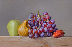 Grapes and fruits