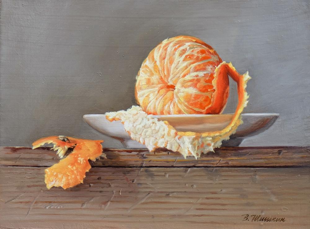 Mandarin saucer
