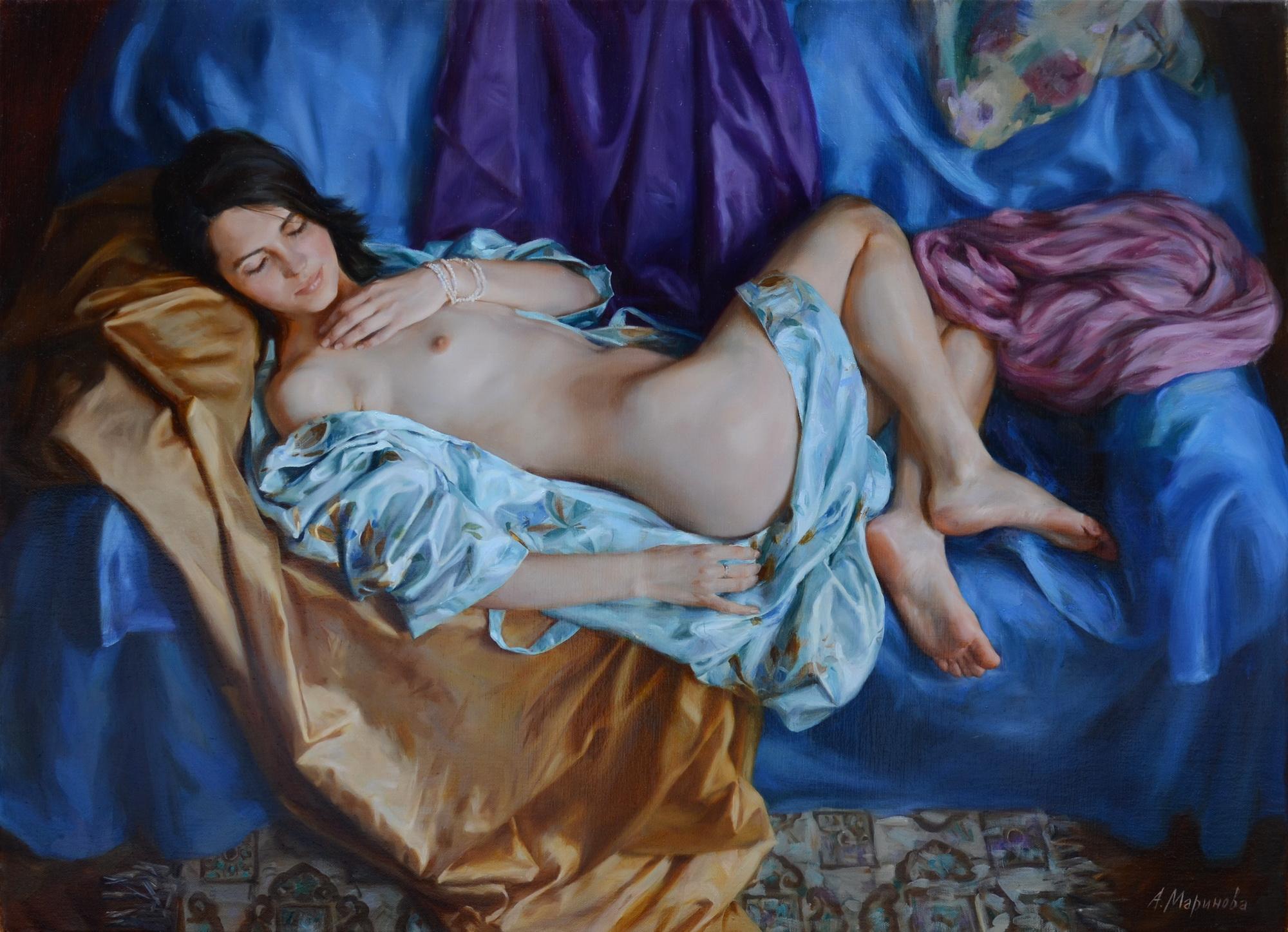 The silk/Шелковый халат