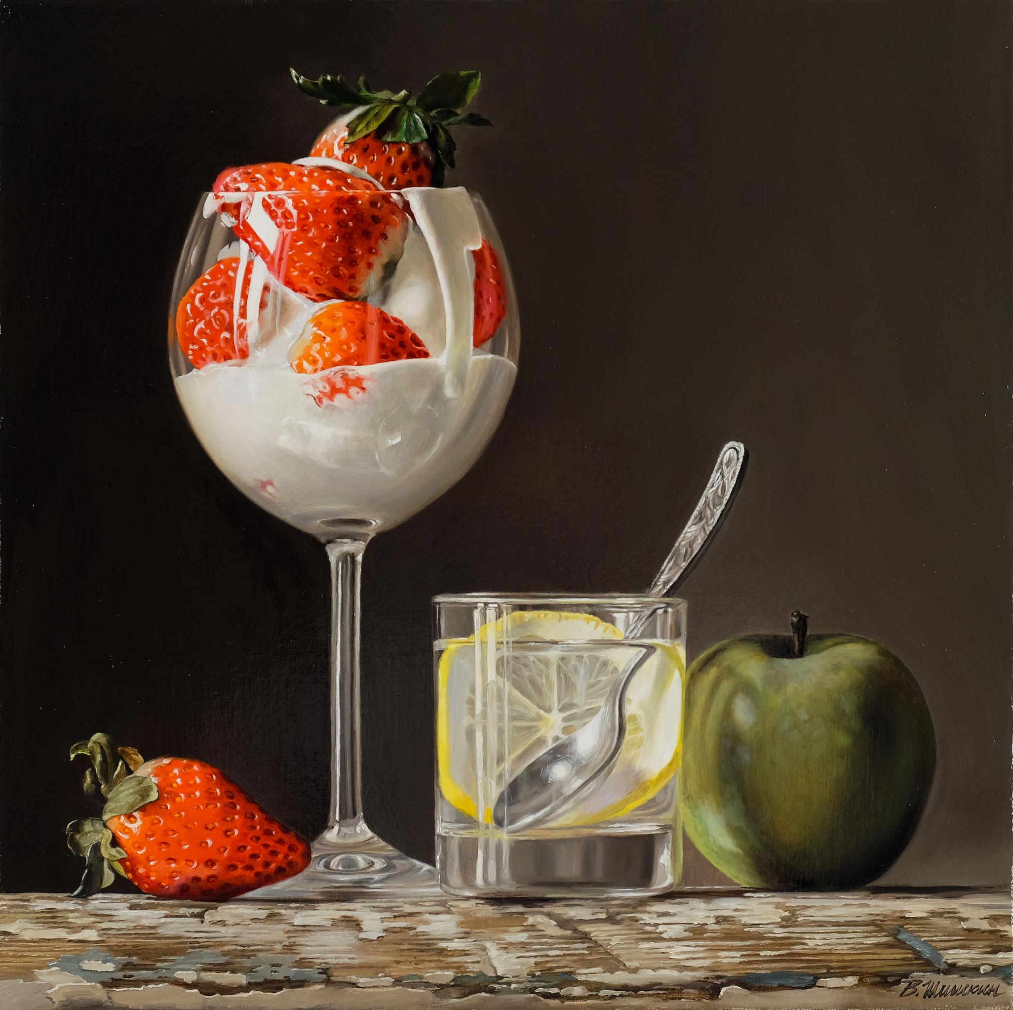 Strawberries/Клубника в сливках